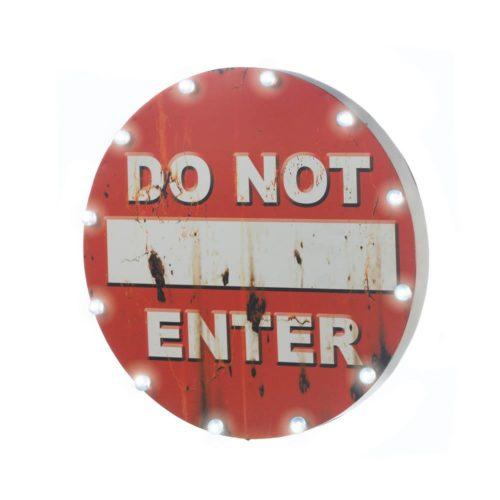 DO NOT ENTER LIGHT UP SIGN (1)