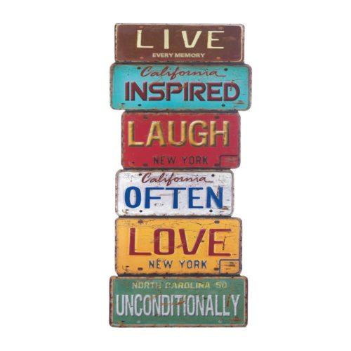 LIFE INSPIRATION WALL DECOR