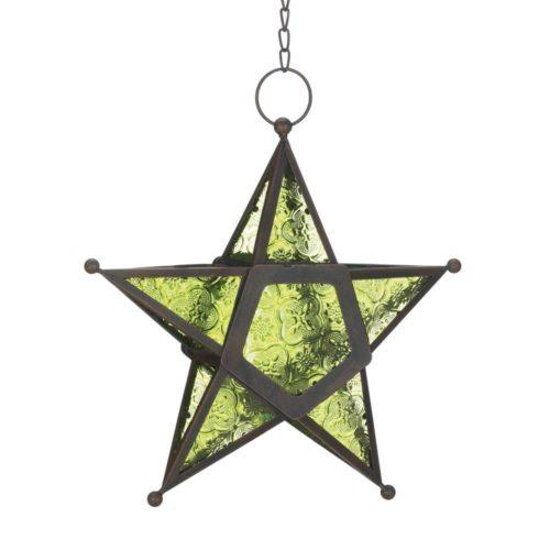 green-glass-star-lantern