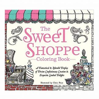 SWEET SHOPPE COLORING BOOK